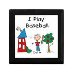 Juego a béisbol cajas de joyas