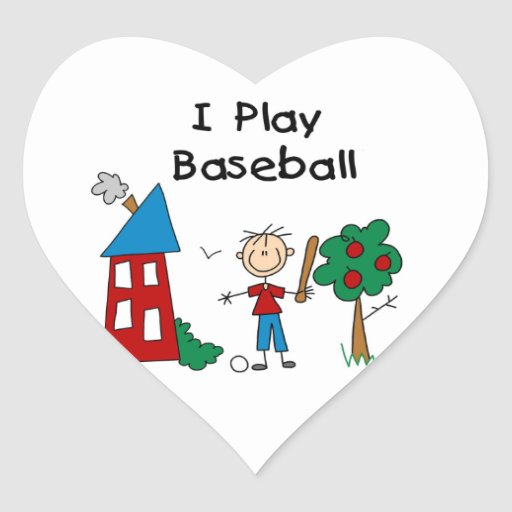 Juego a béisbol colcomanias de corazon