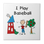 Juego a béisbol tejas  cerámicas
