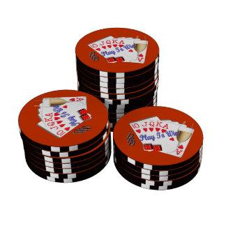 Juego a ganar fichas de póquer