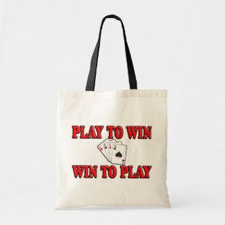 Juego a provechoso para ambas partes para jugar -  bolsa