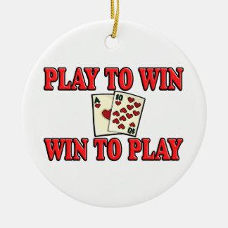Juego a provechoso para ambas partes para jugar -  adorno de reyes