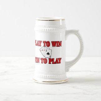 Juego a provechoso para ambas partes para jugar -  taza de café