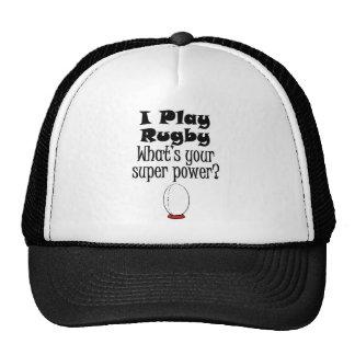 ¿Juego a rugbi cuál es su superpoder Gorro