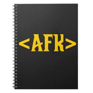 Juego - AFK/lejos del teclado Libretas