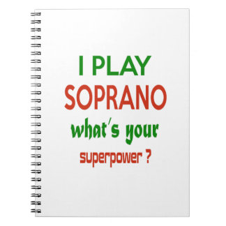 ¿Juego al soprano cuál es su superpotencia? Libro De Apuntes