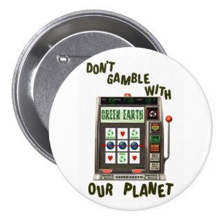 Juego ambiental del Día de la Tierra Pins
