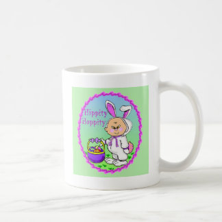Juego asiático del conejito del niño taza