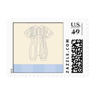 Juego bautismal sellos postales