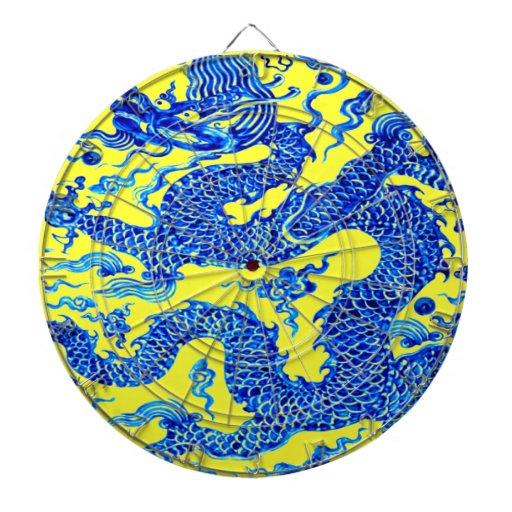 Juego chino de la blanco del arte del florero del  tablero dardos