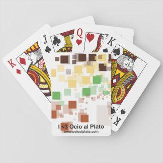 """Juego clásico poker """"Píxeles"""" Baraja De Cartas"""