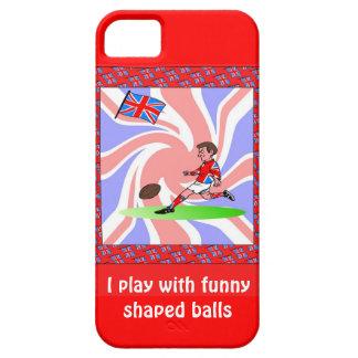 Juego con las bolas formadas divertidas funda para iPhone 5 barely there