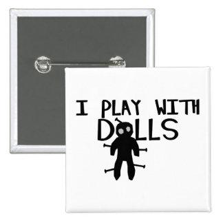 Juego con vudú de las muñecas pins