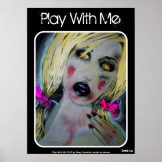 """""""Juego conmigo"""" poster"""
