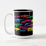 ¡Juego conmigo! taza - negro-multicolora