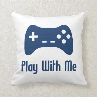 Juego conmigo videojuego cojines