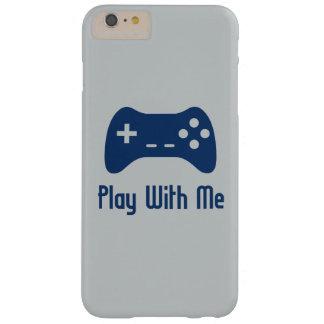 Juego conmigo videojuego funda de iPhone 6 plus barely there