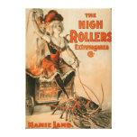 """Juego cordero de Mamie"""" de la extravagancia de los Lona Envuelta Para Galerías"""