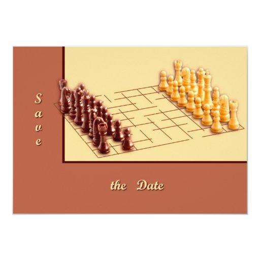 Juego de ajedrez comunicados