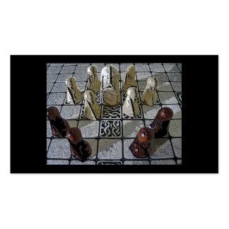 Juego de ajedrez de Viking Tarjetas De Visita