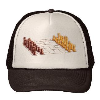 Juego de ajedrez gorra