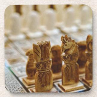 Juego de ajedrez para la venta, bazar del EL Khali Posavasos De Bebida