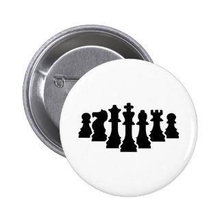 Juego de ajedrez pin redondo 5 cm