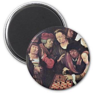 Juego de ajedrez por Leiden Lucas Van la mejor ca Imanes