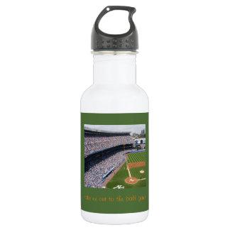 Juego de béisbol botella de agua de 18 onzas