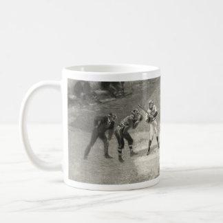 Juego de béisbol del vintage taza de café