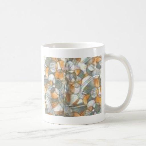 Juego de cobre (polivinílicos retros) taza