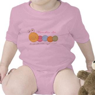 Juego de encargo personalizado del cuerpo de Sie d Trajes De Bebé