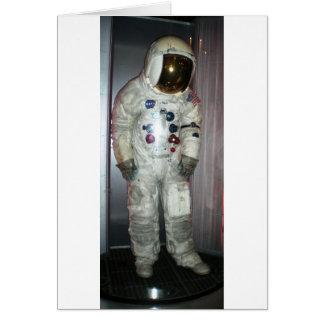 Juego de espacio del astronauta de la NASA Tarjeta De Felicitación