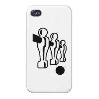 Juego de Foosball iPhone 4 Carcasa