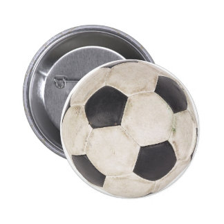 Juego de fútbol de Footie del fútbol del aficionad Pin Redondo De 2 Pulgadas