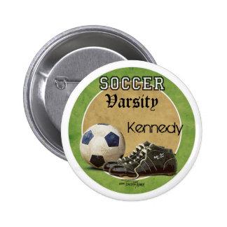 Juego de fútbol pins