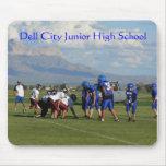 Juego de JHS FBall, escuela de secundaria de la ci Alfombrillas De Raton