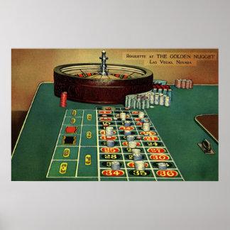Juego de juego de los microprocesadores del casino póster