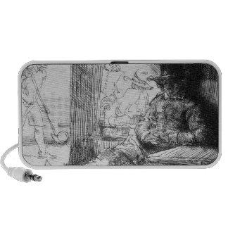 Juego de Kolf, 1654 Laptop Altavoces