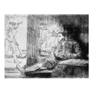 Juego de Kolf, 1654 Tarjetas Postales