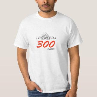 Juego de la camisa 300 de los bolos