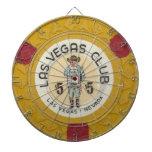 Juego de la ficha de póker del casino de Las Vegas Tablero Dardos