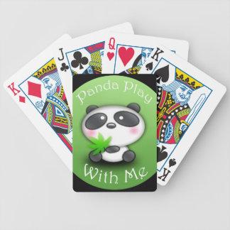 Juego de la panda conmigo barajas de cartas