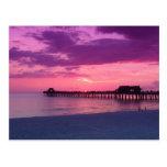 Juego de la playa de Nápoles Tarjetas Postales