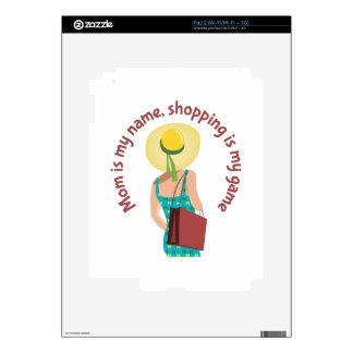 Juego de las compras calcomanía para iPad 2