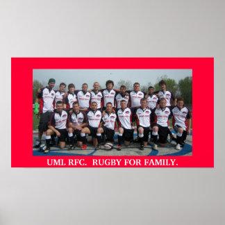 Juego de los alumnos del RFC 2008 de UML Poster