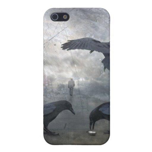 Juego de los cuervos con tiempo perdido iPhone 5 carcasa