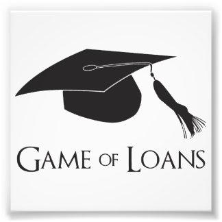 Juego de los préstamos de la graduación de la univ cojinete
