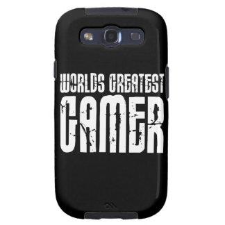 Juego de los videojuegos y el videojugador más gra samsung galaxy s3 cárcasa