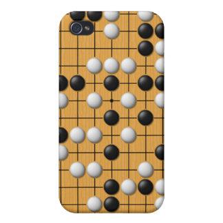 Juego de mesa asiático de Paduk/Baduk/Go para el i iPhone 4 Funda